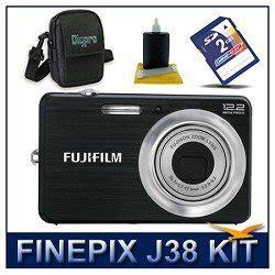 Kamera Fujifilm Finepix J38 fujifilm finepix j38 digital black 12 2 megapixel 3x optical zoom ultra compact