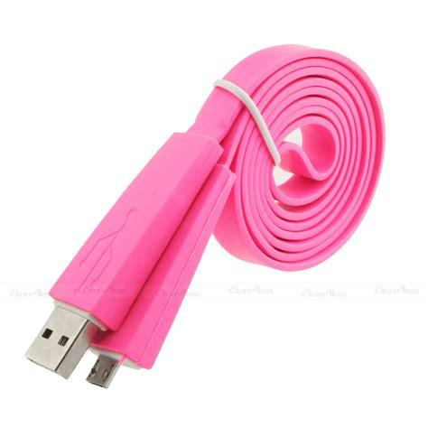 New Promo Optimuz Noodle Cable 2m Micro Usb 2 Meter Putih 1m 2m 3m flat noodle micro usb charger cable for nokia lumia 800 900 920 1020 ebay
