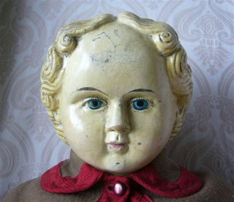 Paper Mache Doll - large greiner papier mache doll from joan