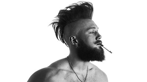 viking mohawk 15 cool viking hairstyles for the rugged man the trend