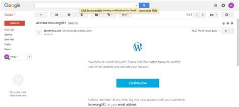 cara membuat blog di www wordpress com cara membuat blog di wordpress blogger pemula