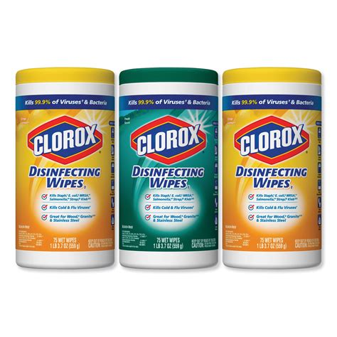 buy clorox disinfecting wipes  fresh scentcitrus blend canister pk  packsct