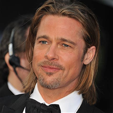 brad pitt natural hair today brad pitt turns 50 let us reflect on his hair