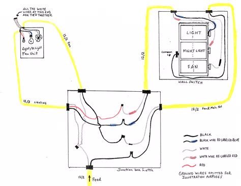 bathroom wiring diagram i re wired my homes bathroom during a renovation project