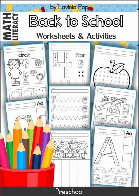 kindergarten activities back to school back to school preschool centers in my world