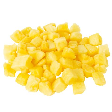 lb iqf frozen diced pineapple