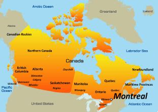 map canada montreal montreal canada map