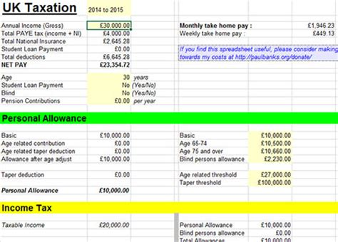 payroll tax calculator excel free employee salary paycheck