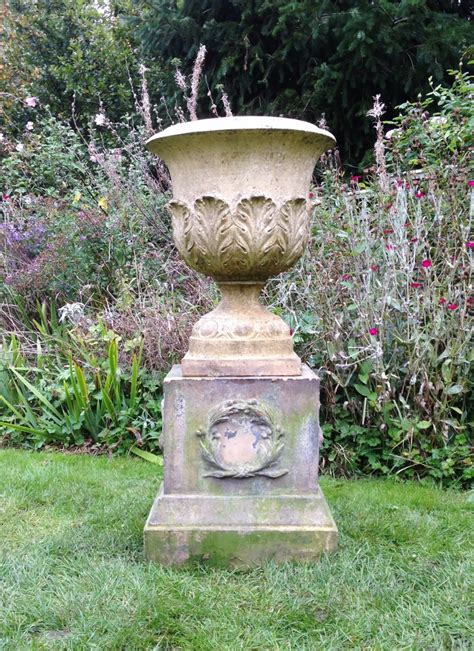 The Pedestal Company Doulton Urn And Pedestal In From The Vintage Garden Company