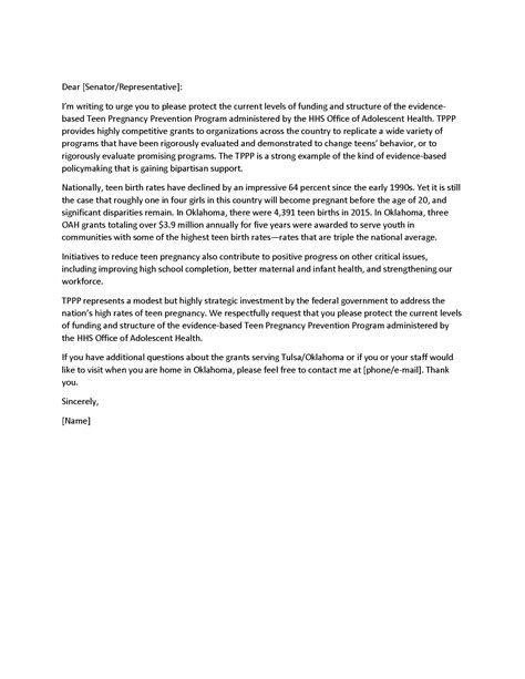 Sle Letter To Congressman Asking For Assistance