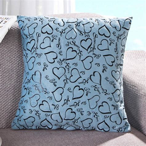 bed throw pillows heart retro throw pillow cases home bed sofa decorative