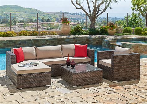 Furniture Furniture Resin Wicker Patio Furniture With Outside Wicker Patio Furniture