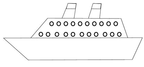 boat hull outline ship clipart sketch to color 15 cm long flickr photo