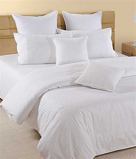 bed sheets cotton bombay dyeing king size stripes cotton double bed sheet