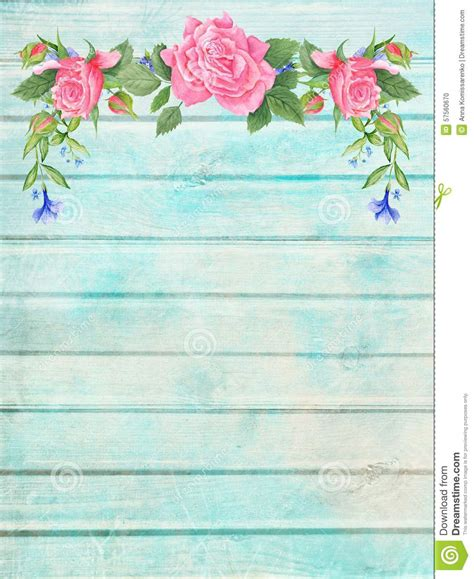 Wallpaper Bunga Floral Flower Shabby Chic Vintage Rustic 210602 shabby chic wood background with floral vignette stock illustration image 57560670