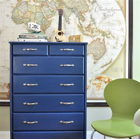 Blue Childrens Dresser by Pb Inspired Dresser Centsational Style