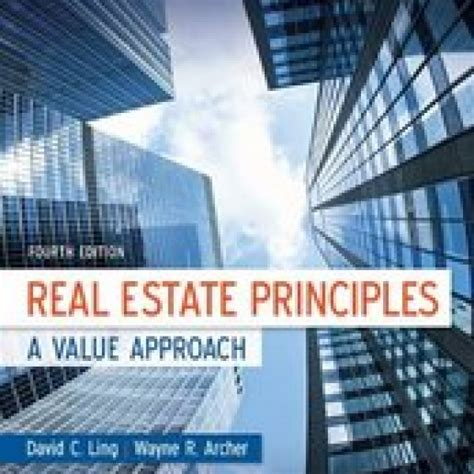 test bank for real estate principles a value approach 4 e