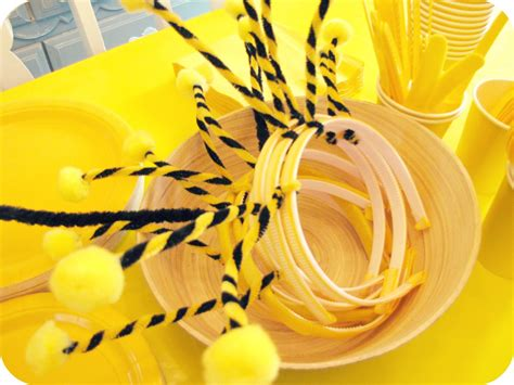 honey bee decorations for your home my house of giggles a yellow bumble bee birthday party