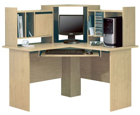morgan corner computer desk south shore morgan honey oak home office collection 7203