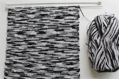 black and white yarn patterns merely merelknitting with a black grey white yarn merely