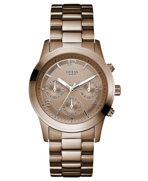 Rolex Guess guess s chronograph bronze tone stainless