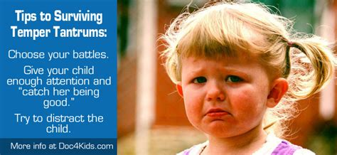 Ways To Deal With An Ill Tempered by How To Deal With A Child S Temper Tantrum Pediatric