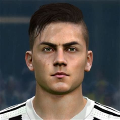 dybala tattoo pes 2016 ultigamerz pes 2016 paulo dybala juventus face update v3