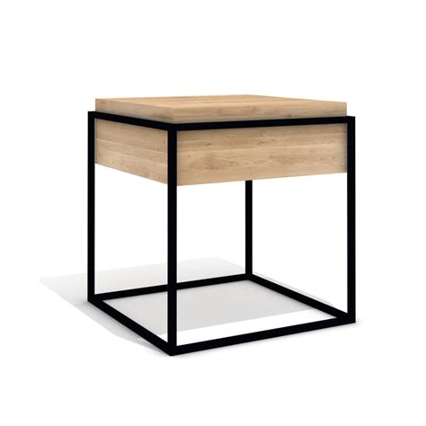 Small Black End Table by Buy Universo Positivo Monolit Side Table Small Black