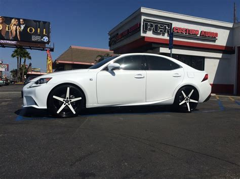 Pch Audio - 2015 lexus is250 on 20 quot lexani wheels with matching custom paint yelp