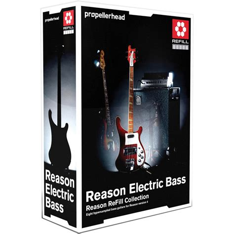 best reason refills propellerhead software reason electric bass refill pack