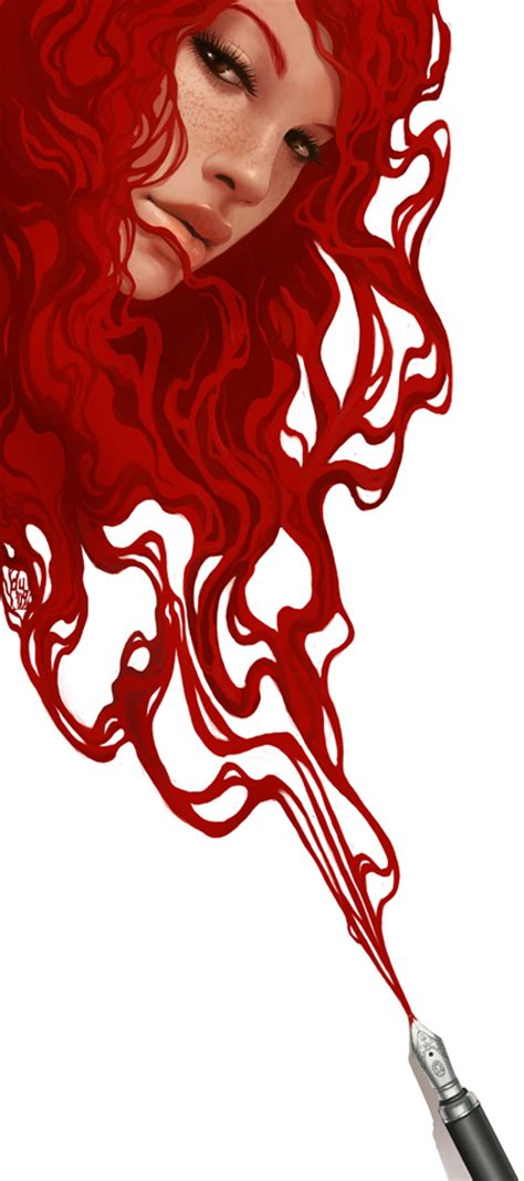 by daniela uhlig illustrations red ink by danielauhlig on deviantart