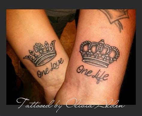 one life one love tattoo collection of 25 one one designs on wrist