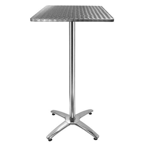 table haute terrasse inox tra 248c60 one mobilier
