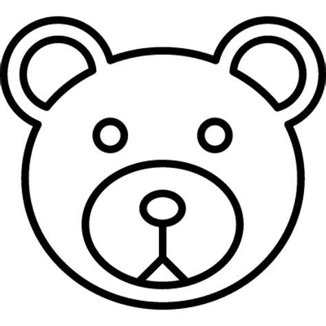 teddy bear head coloring page teddy bear head outline www pixshark com images
