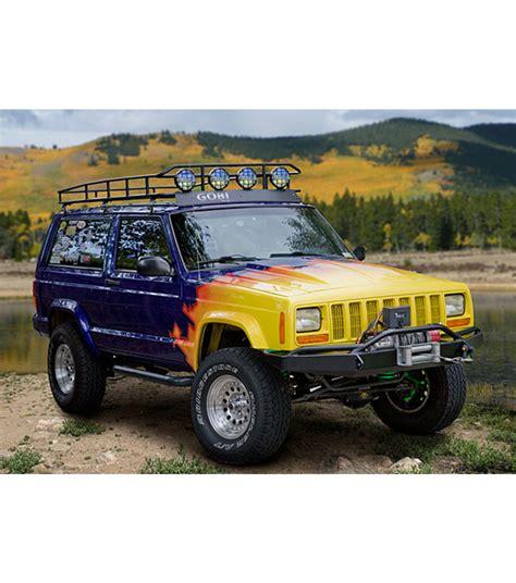 jeep cherokee xj sunroof jeep cherokee xj 183 ranger rack 183 multi light setup 183 no