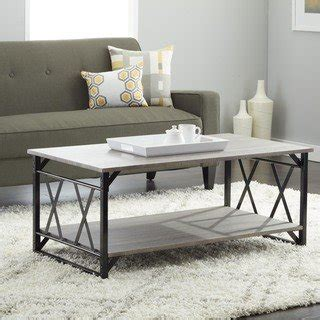 gray coffee and end tables simple living seneca xx reclaimed look end table free