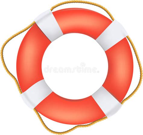 preserver clipart buoy preserver with rope royalty free stock images