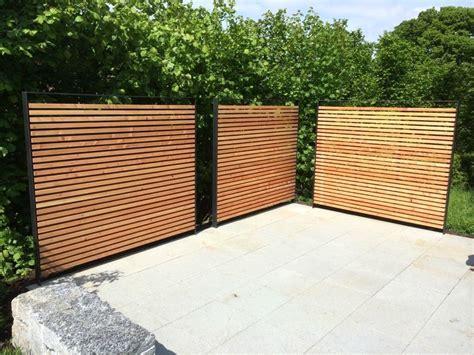 holz sichtschutz angenehm auf moderne deko ideen auch - Gartenzaun Sichtschutz Ideen