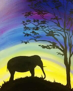 paint nite at the zoo painting with a splash buttonwood park zoo