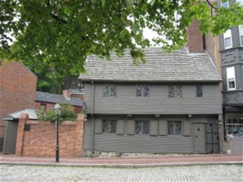 paul revere house floor plan boston walking tours freedom trail tour site information