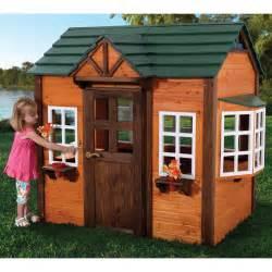 Backyard Discovery Cedar Playhouse Kidkraft My Woodland Playhouse 155 Outdoor Playhouses