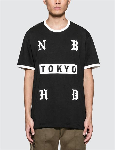 Adidas Neighborhood Tshirt adidas originals neighborhood x adidas nh s s t shirt in