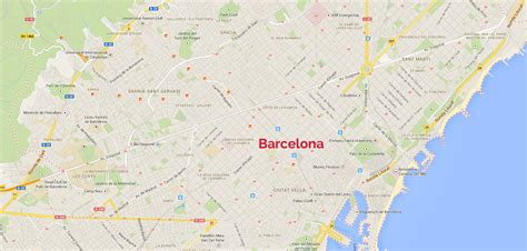 map of barcelona maps update 30722069 barcelona city map tourist barcelona map tourist attractions 74