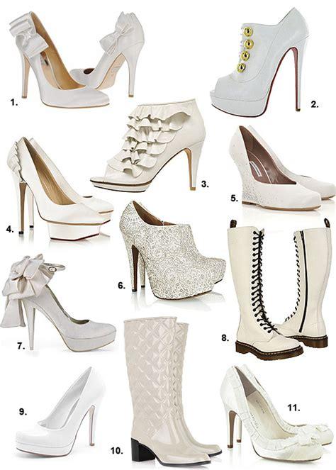 imagenes de vestidos de novia y zapatos zapatos para novias las huellas m 225 s blancas del invierno