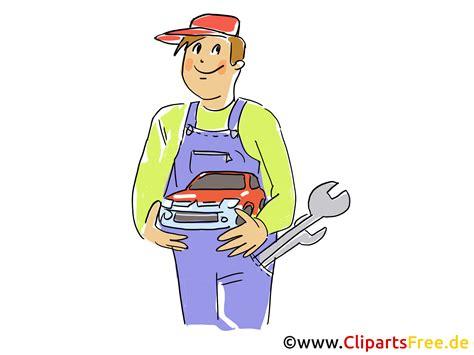 werkstatt clipart kfz mechaniker in werkstatt clipart bild grafik
