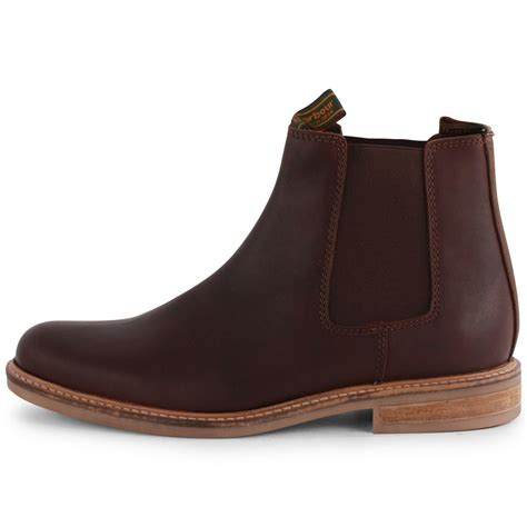 barbour mens boots barbour farsley mens chelsea boots in brown