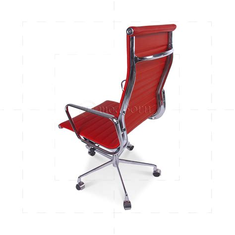 eames office chair high back ribbed leather white eames style office chair high back ribbed leather leather office chairs