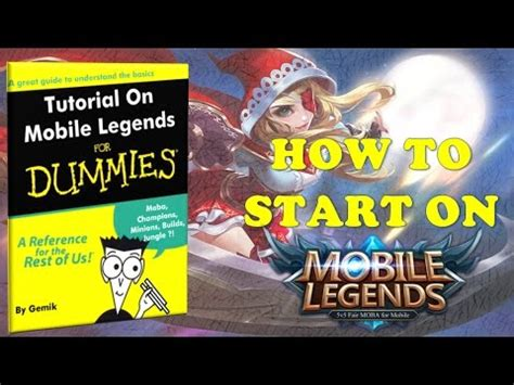 tutorial mobile legend mobile legends a basic tutorial for beginners what you