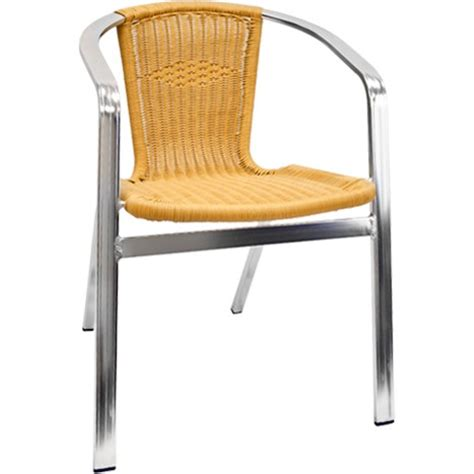 Tubular Aluminum Patio Furniture by Aluminum And Rattan Patio Chair