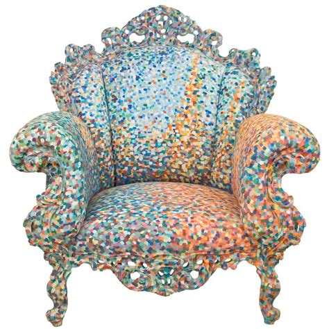 poltrona di proust poltrona di proust armchair by alessandro mendini at 1stdibs